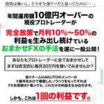 おまかせFXプロジェクト 樋山真一(チームHAKUTO)
