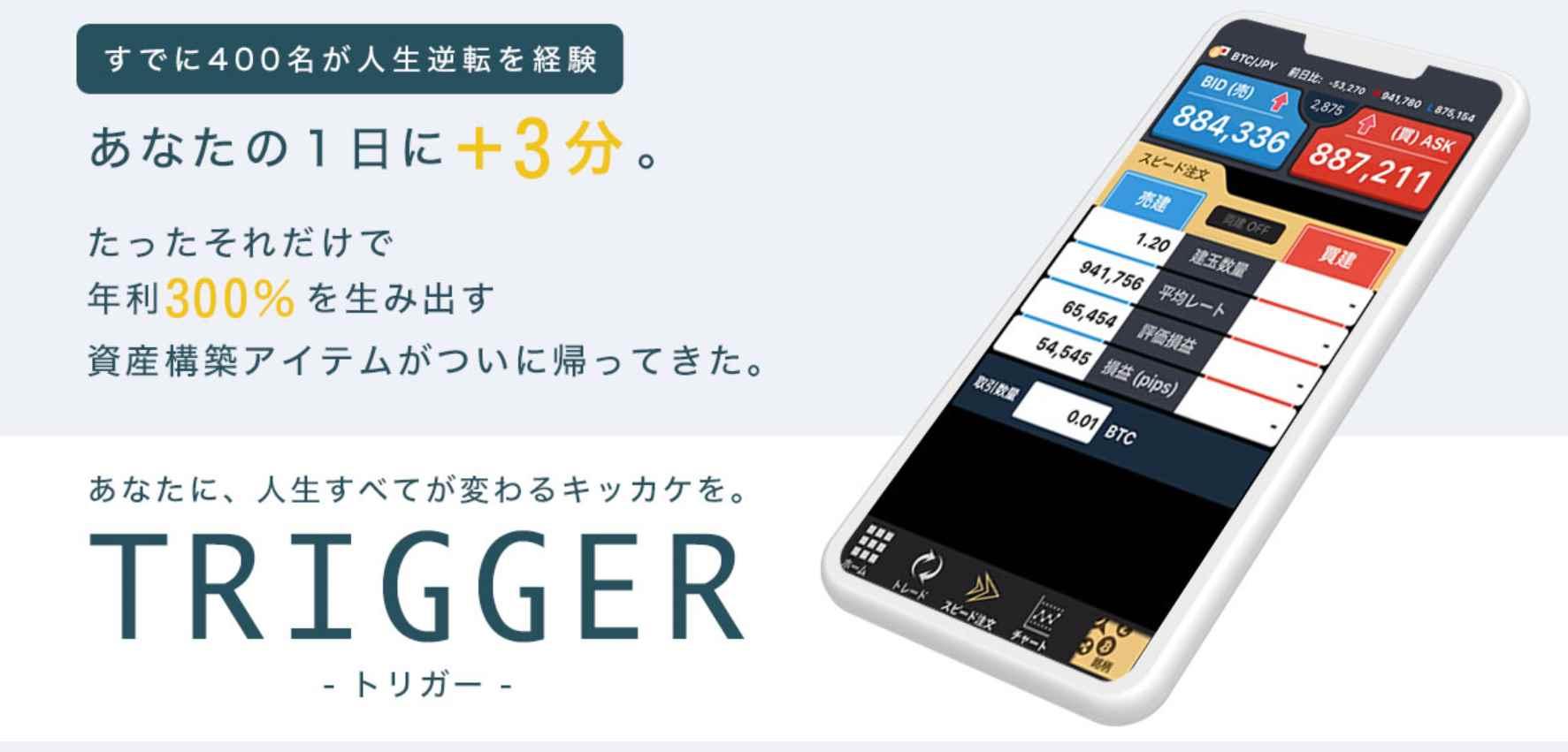 TRIGGER(トリガー)天野健志