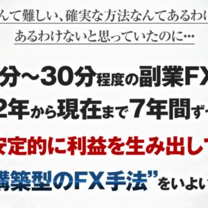 資産構築型のFX手法 矢田丈